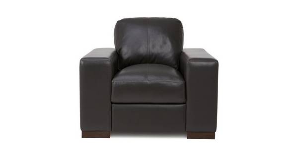 Stobart Leather and Leather Look Armchair