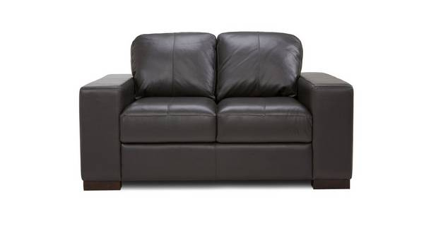 Stobart Leather and Leather Look 2 Seater Sofa