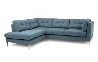 Right Hand Facing Open End Corner Sofa