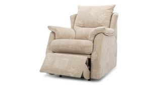 Stow Fabric C Manual Recliner Chair