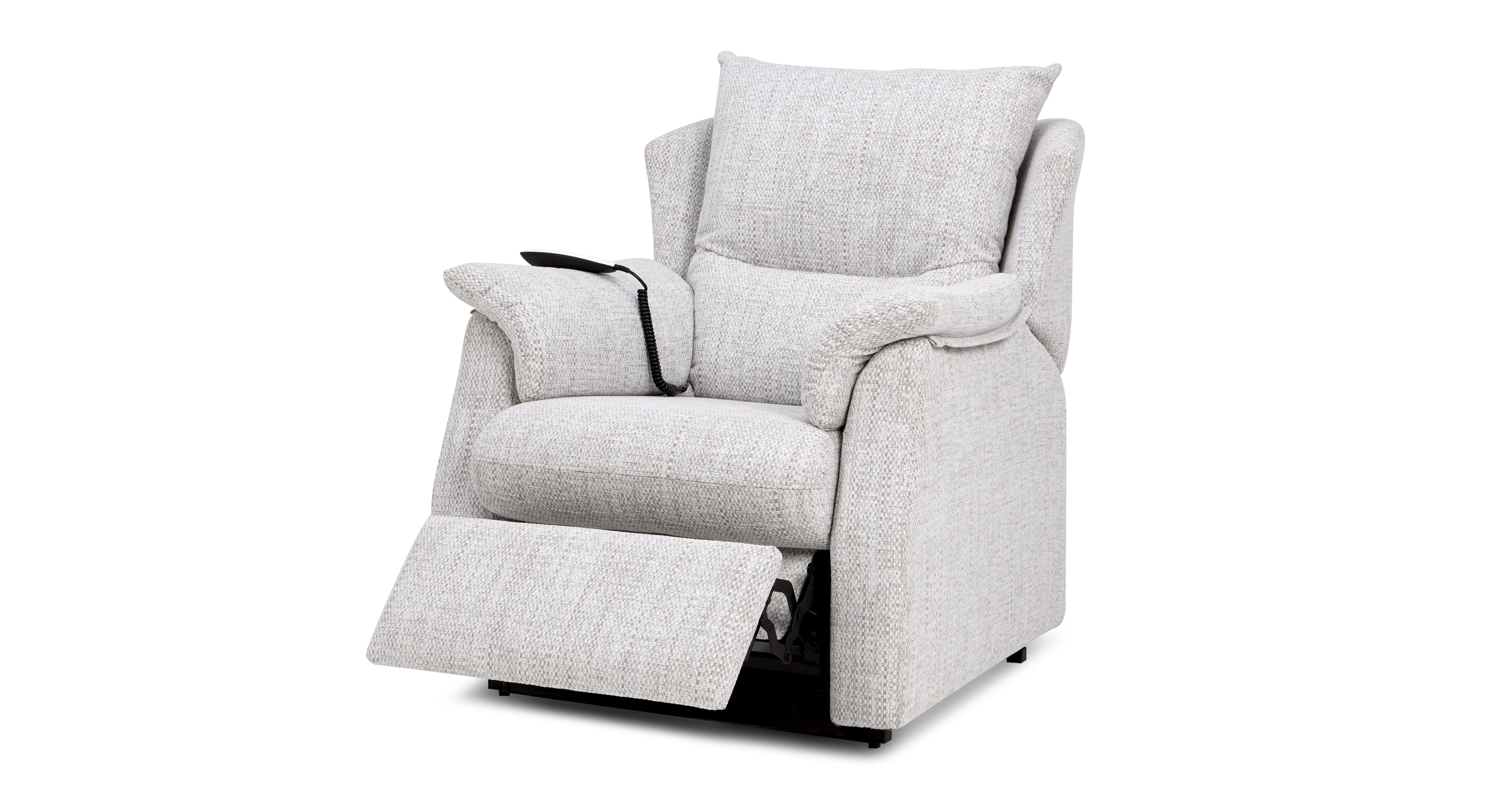 Stow Fabric D Rise And Tilt Electric Recliner Chair G Plan