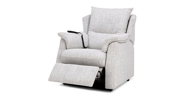 Outstanding Stow Fabric D Rise And Tilt Electric Recliner Chair Creativecarmelina Interior Chair Design Creativecarmelinacom