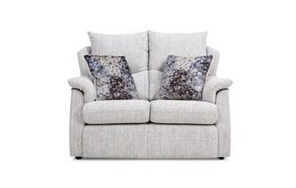 Fabric D Small 2 Seater Sofa