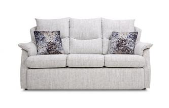 Fabric D 3 Seater Sofa