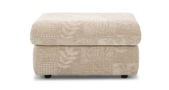 Stow Fabric C Storage Footstool