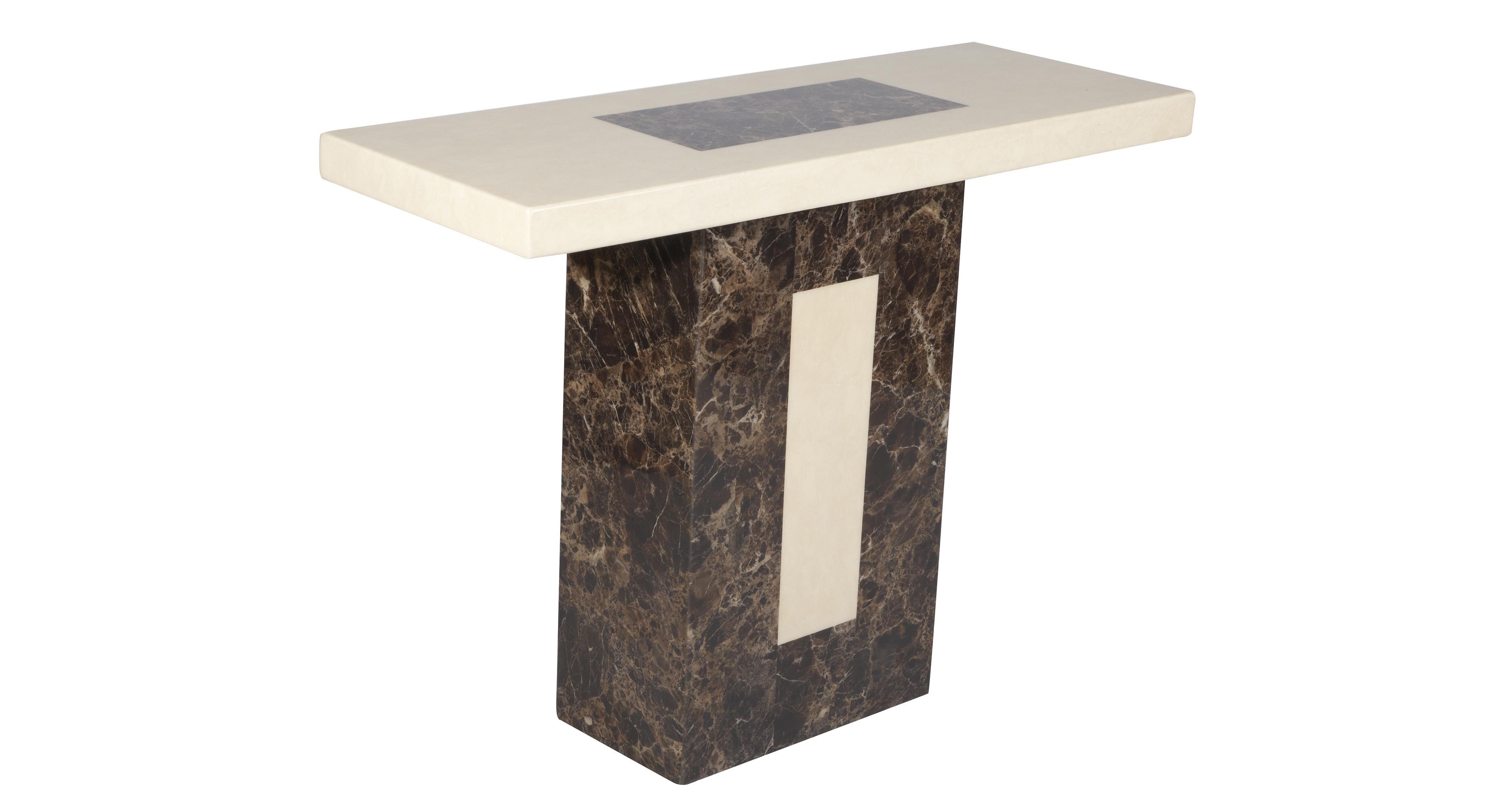 f patine ciale furniture black top sp noir glass edition avec gueridon w marble ed marbre speciale pedestal en table verre facon plateau marly like collection