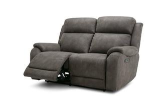 Fabric 2 Seater Power Plus Recliner Sofa