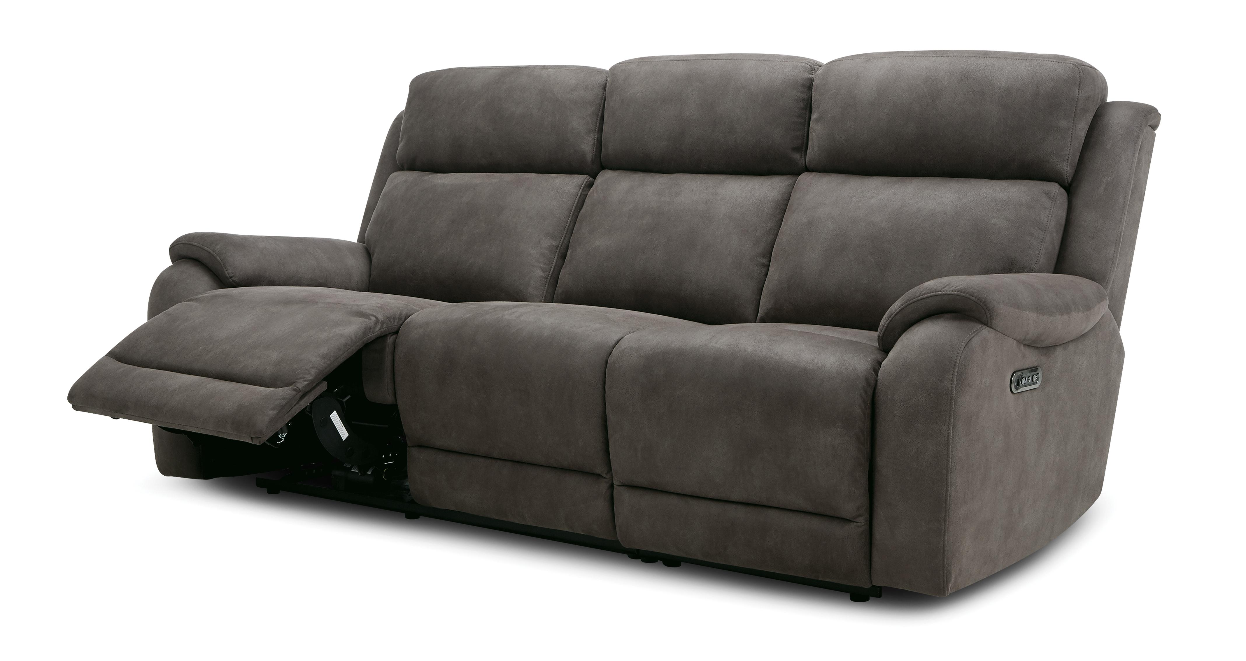 Sensational Strata Fabric 3 Seater Power Plus Recliner Sofa Prestige Dfs Gamerscity Chair Design For Home Gamerscityorg