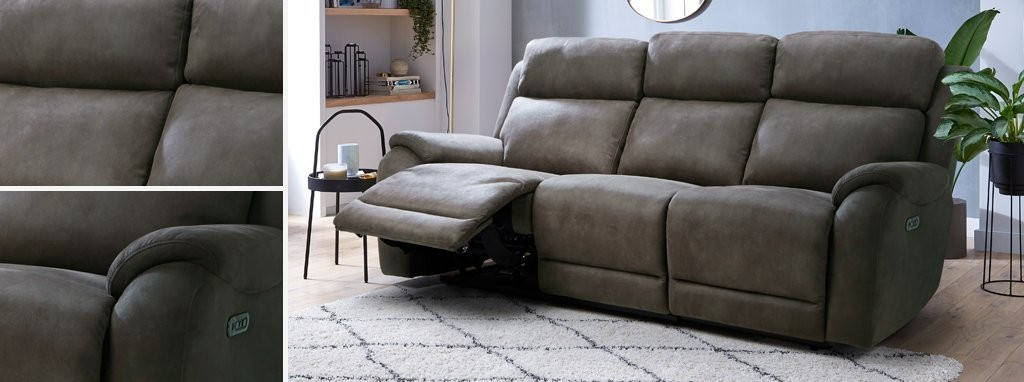 Excellent Strata Fabric 2 Seater Power Plus Recliner Sofa Prestige Gamerscity Chair Design For Home Gamerscityorg