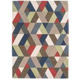 Multicoloured Medium Rug
