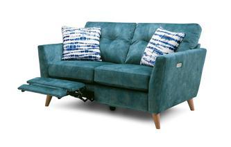 Velvet 2 Seater Motion Sofa