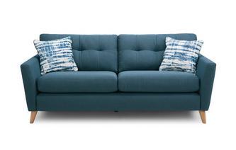 Boucle 3 Seater Sofa