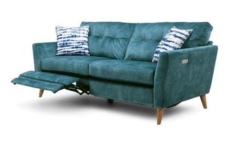 Velvet 3 Seater Motion Sofa