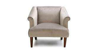Sublime Velvet Accent Chair
