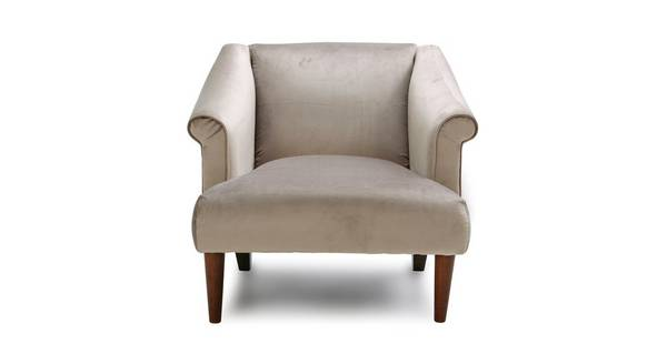 Sublime Velvet Accent Chair