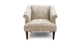 Sublime Block Accent Chair