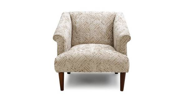 Sublime Block Accent Chair