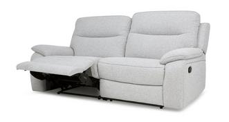 Superb 3-zitter handbediende recliner
