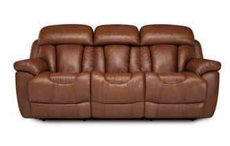 3-zitter handbediende recliner Panama