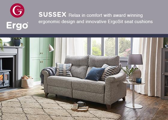 Gplan Sussex Sofa