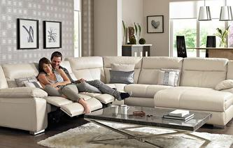 Swift Right Hand Facing Electric Chaise Corner Sofa New Club