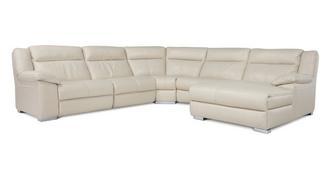 Swift Right Hand Facing Chaise Manual Corner Sofa