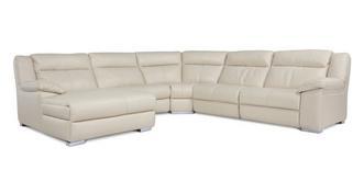 Swift Left Hand Facing Chaise Manual Corner Sofa