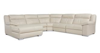 Swift Left Hand Facing Manual Chaise Corner Sofa