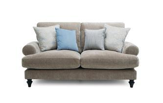 2 Seater High Back Sofa