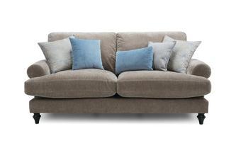 3 Seater High Back Sofa