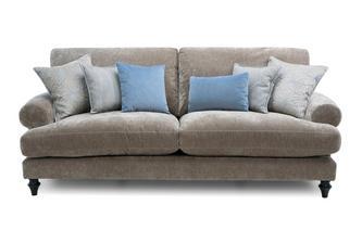 4 Seater High Back Sofa