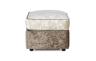 Storage Footstool Glitz