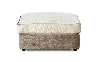 Large Storage Footstool Glitz