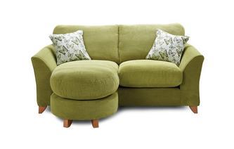 Formal Back 2 Seater Lounger Sofa