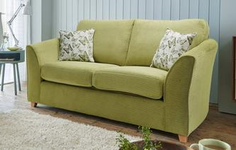 Tabitha Formal Back 2 Seater Sofa Bed Tabitha