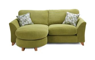Formal Back 3 Seater Lounger Sofa