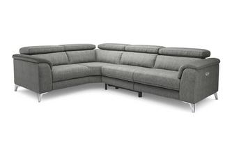Option D Right Hand Facing 2 Seat 2 Piece Power Recliner Corner Group