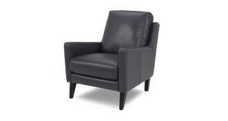 Tate Leather Accent Chair