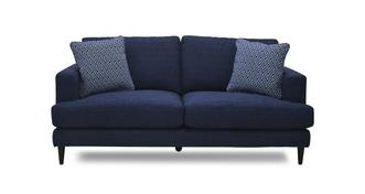 Tate Plain and Pattern Midi Sofa