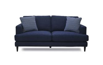 Plain and Pattern Midi Sofa