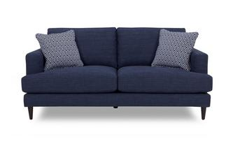 Plain and Pattern Large Sofa