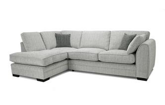 Formal Back Right Hand Facing Arm Open End Corner Sofa