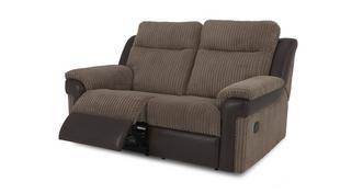 Tawny 2-zits elektrische recliner