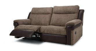 Tawny 3 Seater Manual Recliner