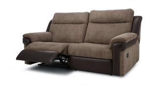 Tawny 3-zitter handbediende recliner