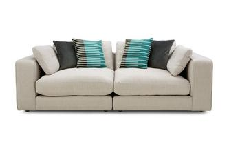 Chenille 3 Seater Split Sofa