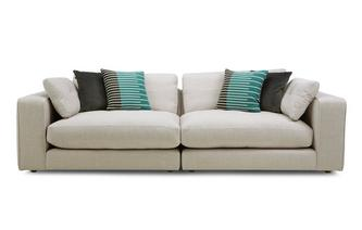 Chenille 4 Seater Split Sofa