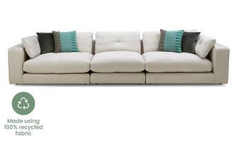 Chenille Grand Sofa