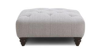 Thelma Square Button Top Footstool