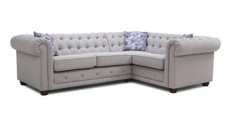 Thelma Left Hand Facing Arm 2 Seater Corner Sofa